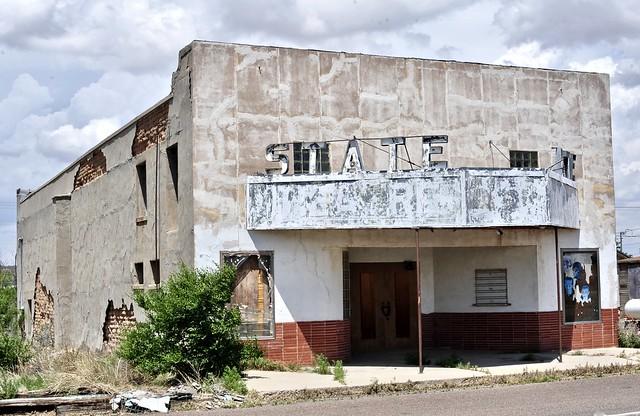 State Theater - Sierra Blanca,Texas.