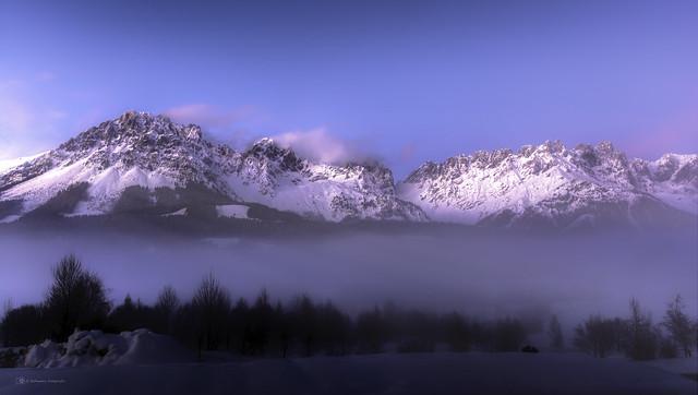 Wolken im Tale