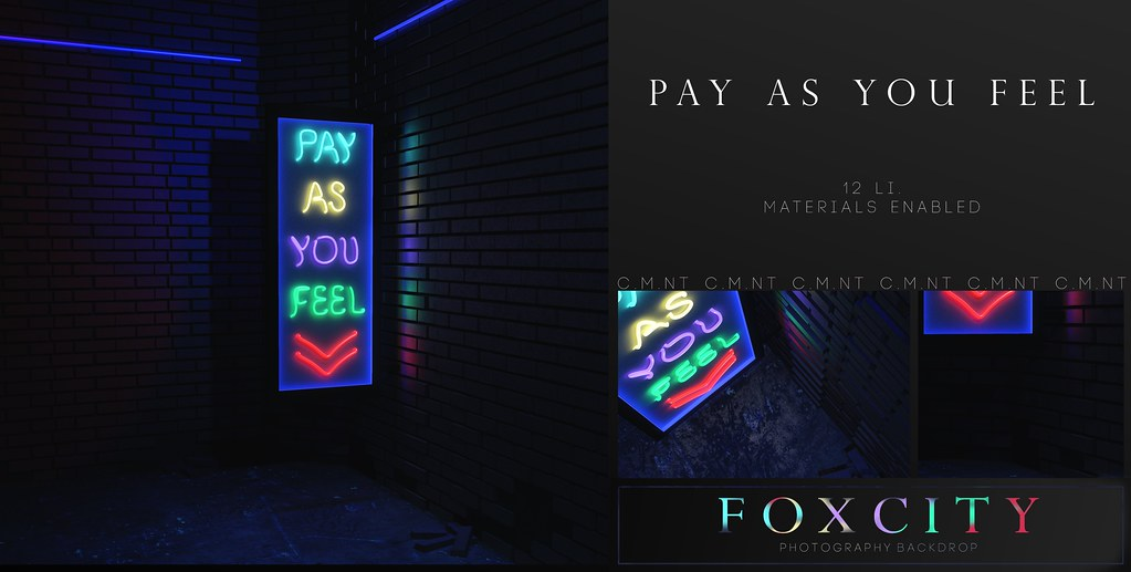 FOXCITY  Photo Booth - Pay As You Feel @ Vanity | Here's our