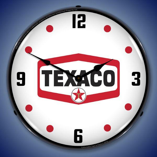 Texaco-Hexagon-IMG1306455-Lighted-Wall-Clock | Tobbe Wangelid | Flickr