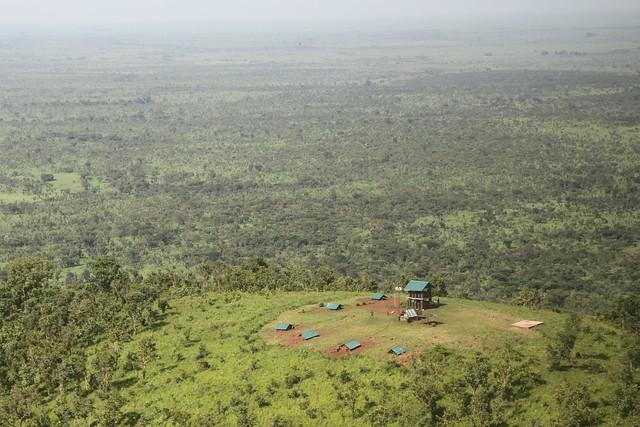 Garamba ranger observation post