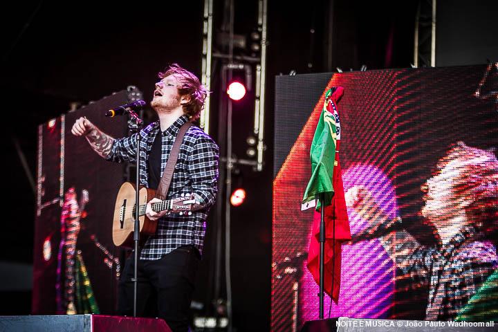 Ed Sheeran - Rock in Rio Lisboa '14