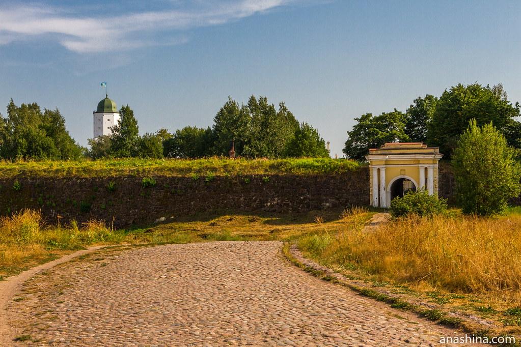 Анненские укрепления и Выборгская крепость, Выборг