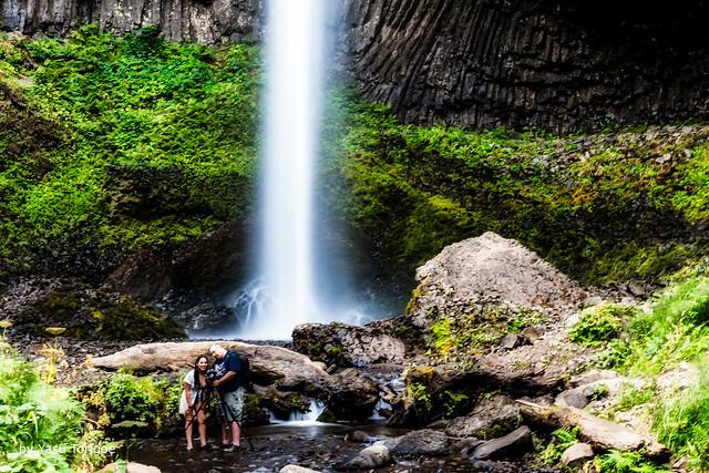 Latourell Falls Portland OR USA-9a