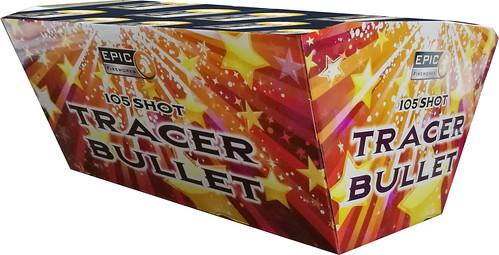 Tracer Bullet 105 Shot Fan Barrage #EpicFireworks