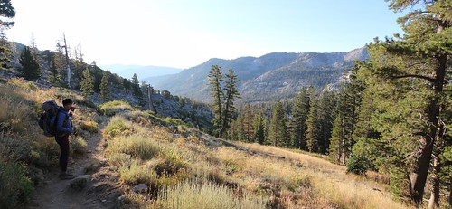 3136 We can see Echo Lake in the distance, but it's a long way downhill on the Pacific Crest Trail | by _JFR_