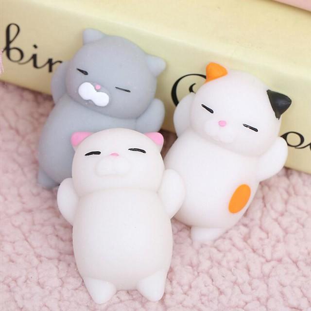 Cute Mochi Squishy Cat - Free shipping