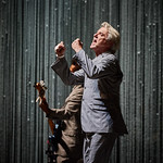Sat, 15/09/2018 - 8:17am - David Byrne brings his American Utopia show to Forest Hills Stadium in Queens, NY. Live on WFUV. Hosted by Rita Houston and Carmel Holt. Photo by Gus Philippas/WFUV