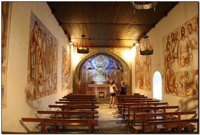Pintures murals de Carme Mas, Església de Sant Andreu, Andorra la Vella (Andorra)