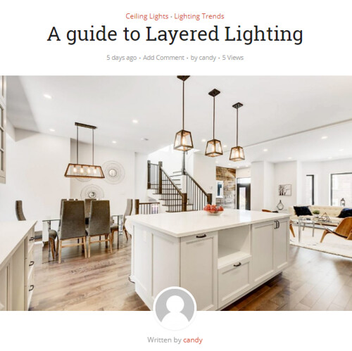 Front page A guide to layered lighting | by Lighting Must