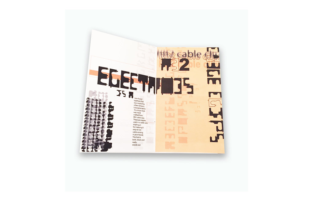 Electrodes Book, Book Design, Book, Typography, Rebecca Pons, BECCA, BECCA Studio, Print Design, Graphic Design, Typography Book