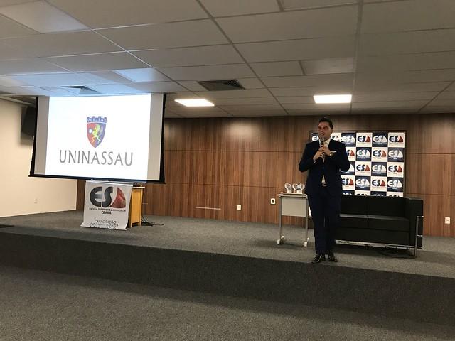 Aula Magna do curso de direito da Faculdade Uninassau 28-08-2018