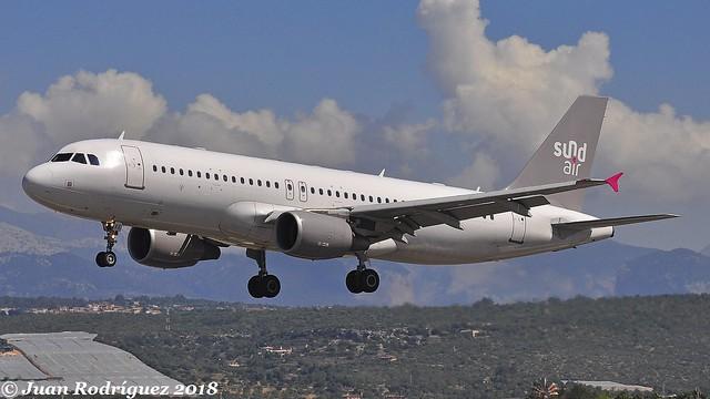 D-ASEE - Sundair - Airbus A320-214 - PMI/LEPA