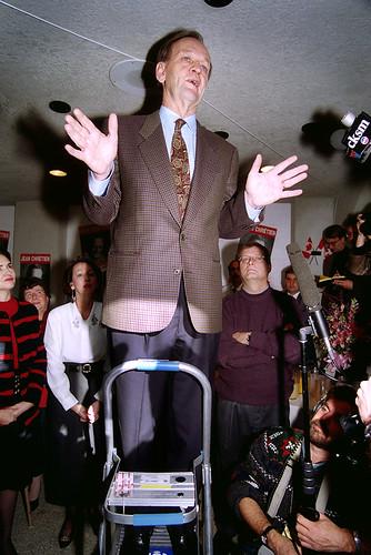 Canadian Prime Minister Jean Chretien 1993