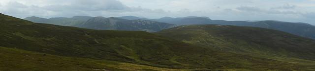 Mountains of Glenshee