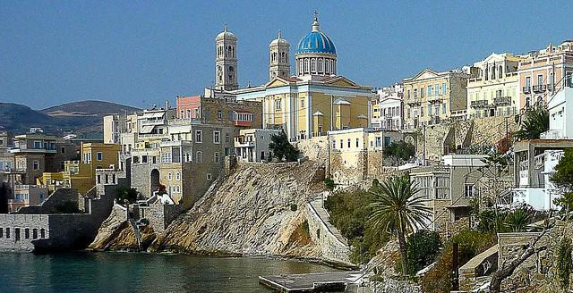 Ermoupolis.panorama
