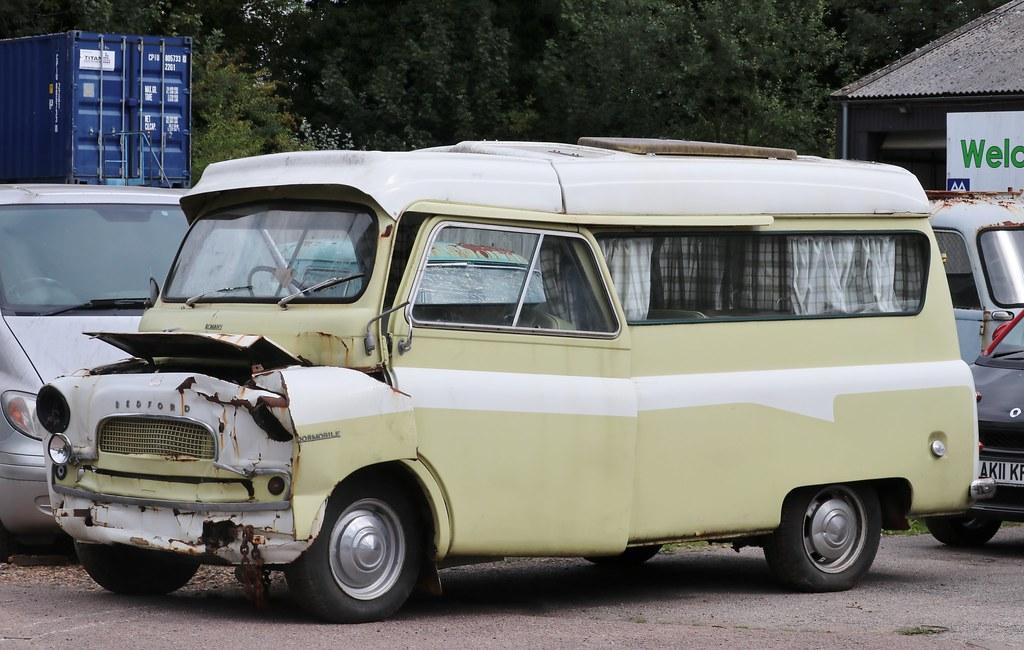 c9f9f499bb6022 Old.Gold Bedford CA Dormobile Romany camper