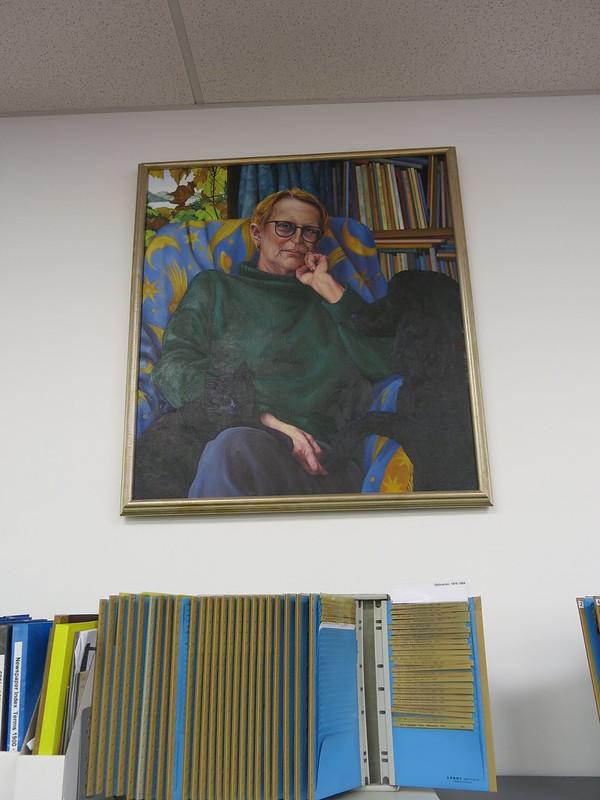 Glenda Randerson portrait of Margaret Mahy