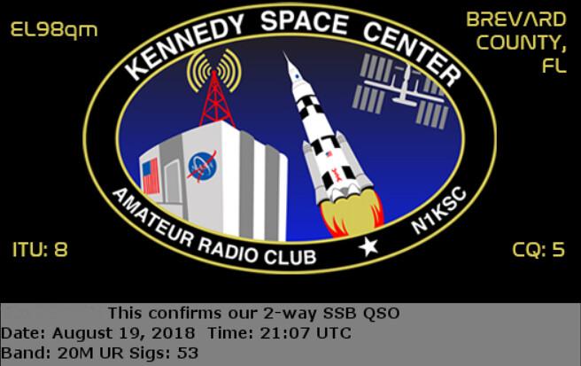 I ❤ Ham Radio - Lighthouse Contact   I made an contact with