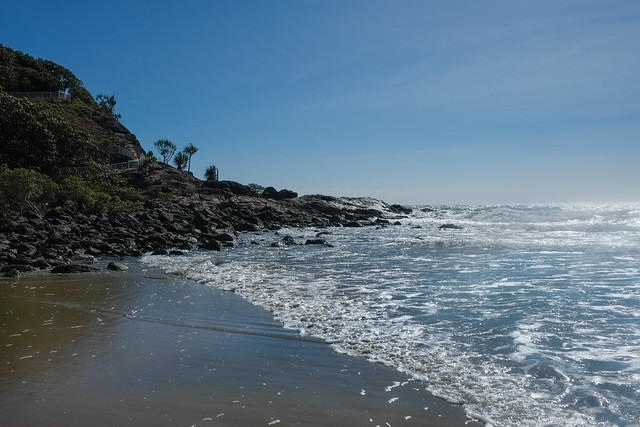 Breaking surf @ Port Douglas