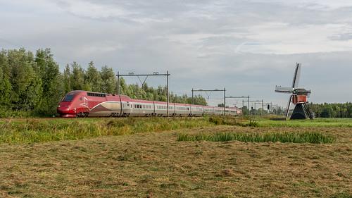 Lisse Thalys TGV-PBKA 4346 trein 9334 Paris-Nord | by Rob Dammers