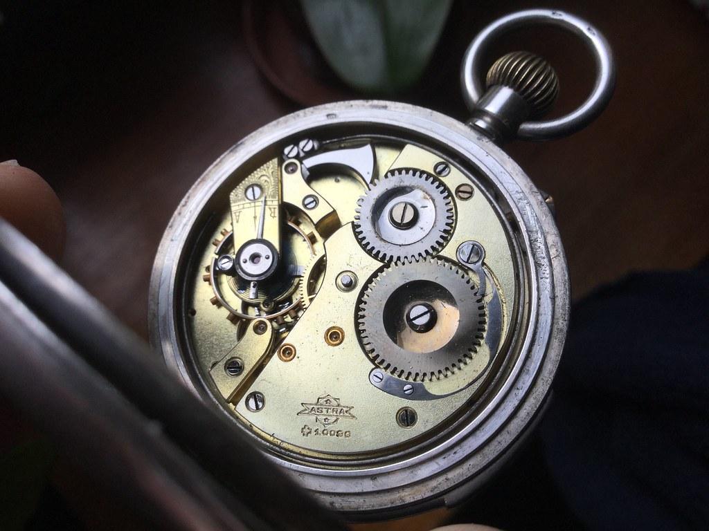 Quarter repeater pocket watch