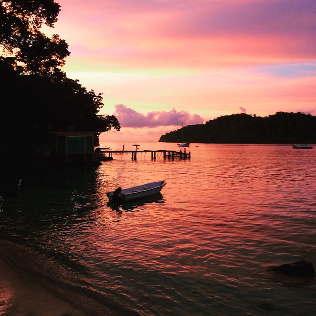 Sunset in Pulau Weh