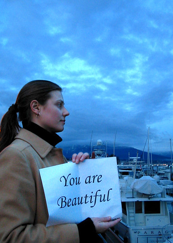 You are beautiful | by Rachael Ashe