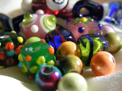 Close Round Beads | by .Nichole.