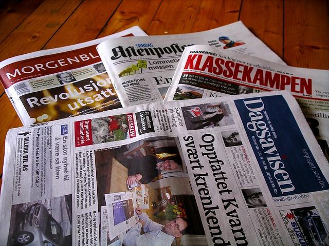 Newspaper sunday