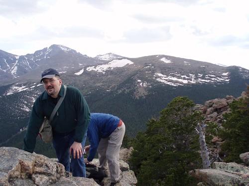 Robert on Estes Cone summit