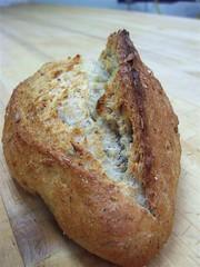 Sunflower-Oat bread