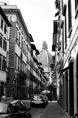 duomo in the street