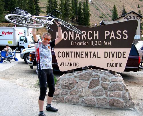 Monarch Pass Summit, Continental Divide