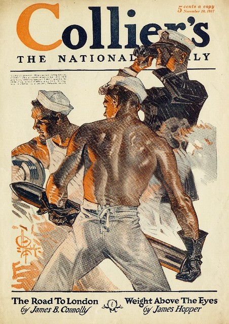 J.C. Leyendecker 1917 - Sailors