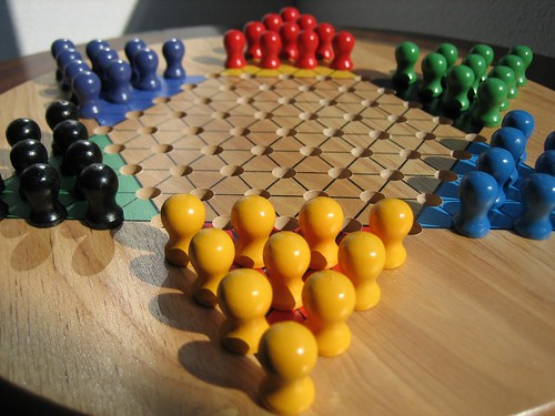 Chinese Checkers   by echiner1