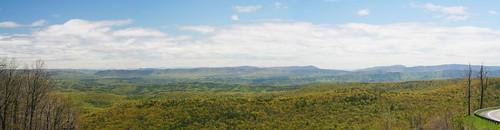panorama wow virginia overlook warmsprings
