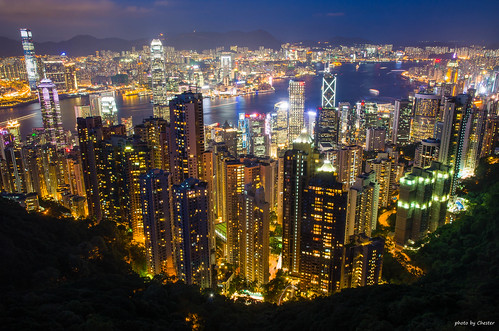 香港 hong kong city peak