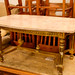 Antique solid marble coffee table E250
