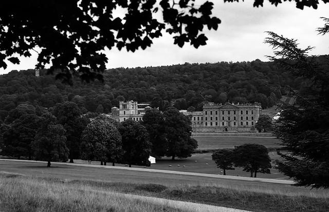 Walking down to Chatsworth