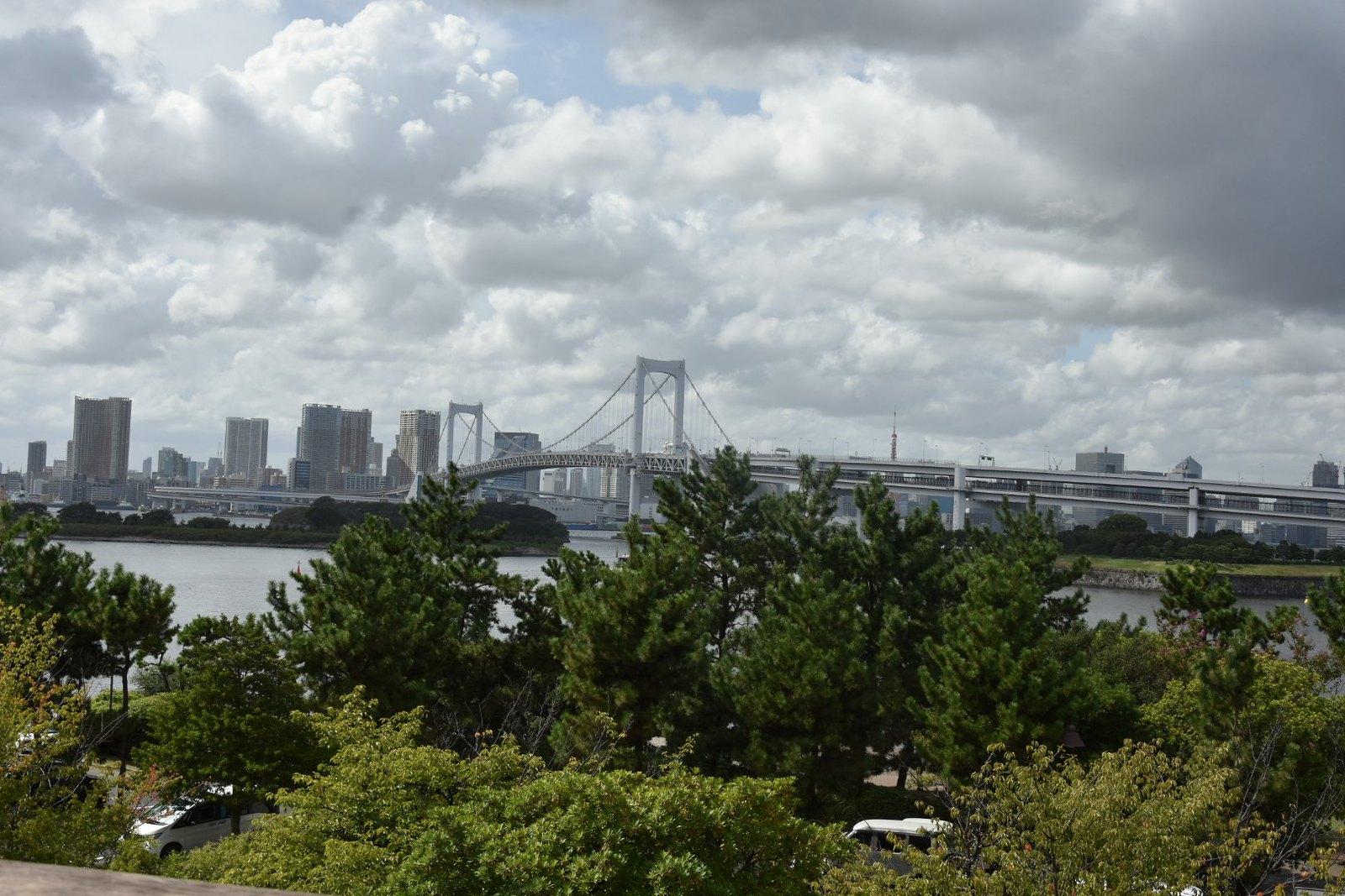 Odaiba - le Rainbow Bridge