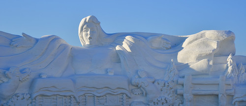Ice and Snow Sculpture in Harbin, China