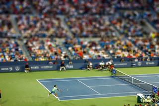 Roger Federer Forehand - Tilt Shift