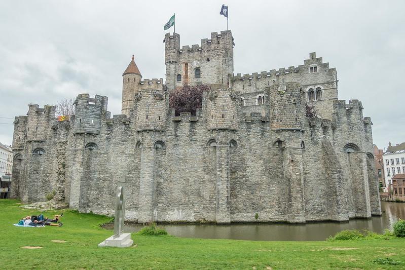 Gravensteen - Castle of the Counts - Ghent, Belgium-01800