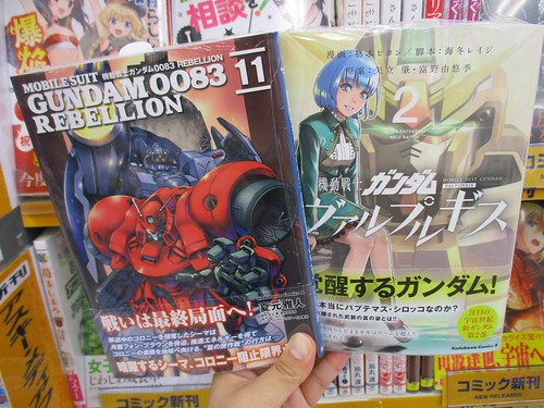 Gundam 0083 vol 11 and Valpurgis 02