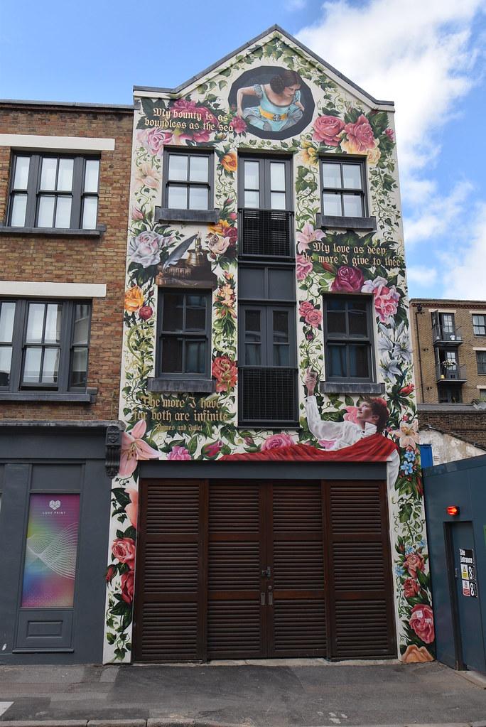 Shoreditch London: Romeo And Juliet House Shoreditch London