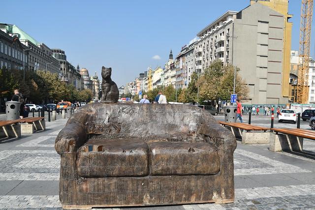 Seat Sir ? Wenceslas Square, Prague