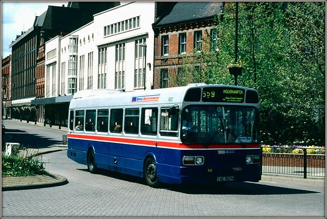 West Midlands Buses 1507
