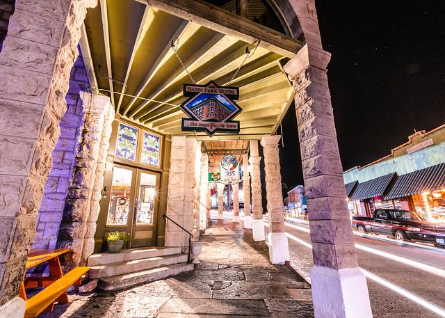2018 Eureka Springs at night