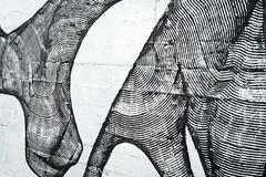 Chemin des Écoliers, graffiti, détail
